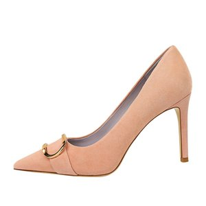 High-heeled Women's Pointed Stiletto 2021 New Shallow Mouth Sexy Super High Heel 9cm Ladies Single Women Shoes High Heel Shoes