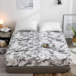 White Polyester Mattress Encasement Cover Breathable Mattress Encasement Cover Hypoallergenic Waterproof Bed