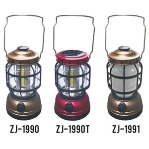 1Pcs lampada di campeggio ricaricabile forte potere luce 360 ° resistenza irradiazione impermeabile calo peso leggero e facile da trasportare