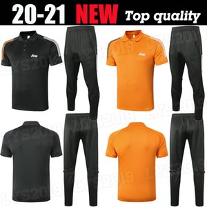 2020 Manchester polo manga curta terno camisa calças de treinamento de futebol United Pogba 20 21 camisas pólo Rashford Lukaku homem do futebol treino