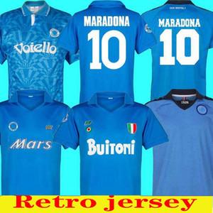 Retro Classico 1982 1983 1987 1988 1989 1991 1992 1993 Камиза де Futebol Napoli 87/88/89 91/93 Марадоны Futebol Спорт