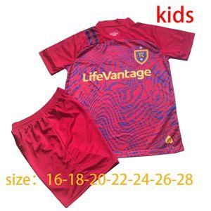 2020 2021 Real Salt Lakes calcio camicia Jersey 20 21 Rusnak MERAM kit calcio Beckerman Kreilach uomini bambini da football