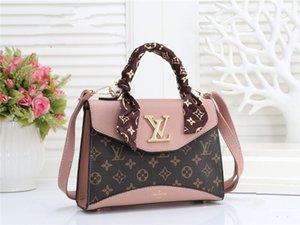 Le donne in Europa e in America la moda borsa tracolla messenger bag Crossbody borsa sciarpa crossbody catena ragazza