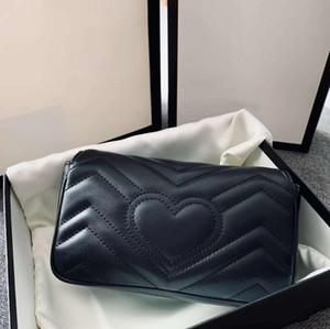 2020 femmes haute qualité sacs à bandoulière dame crossbody mode sac à chaîne classique mini-femmes sac de taille