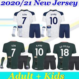 2019/20 Таиланд KANE SON шпоры Детский комплект взрослых футбол Джерси LUCAS Эриксен DELE 19 20 Tottenhames дом Away 3-й белых футболок