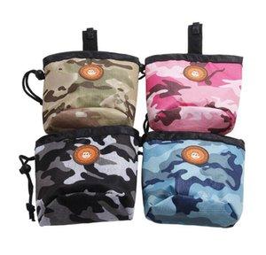 50pcs 3colors Dog Pet Dog Training Bolsa Treat Bags portátil destacável Doggie Pet alimentação bolso Pouch