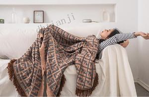 Primavera E L'estate 2020 New Nordic cotone fibra di bambù della frangia del sofà della coperta Estate Con Air Conditioning di estate fredda del TEMPO LIBERO
