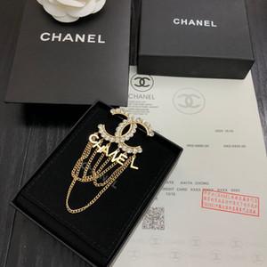 Desinger carta broche 2020 New alta qualidade com caixa de Hot vender moda belas Acessórios de luxo frete grátis 042765
