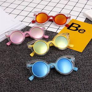 Lunettes de ALIKIAI enfants filles Lunettes de soleil d'été UV400 Lunettes de soleil en plastique