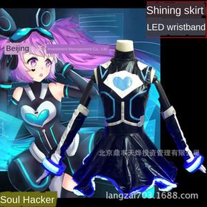 tSBL0 cos Un Qila coswear pirate coeur ZaKIb fille pirate cosplaywear électron femme électron science fiction électronique peau Roi