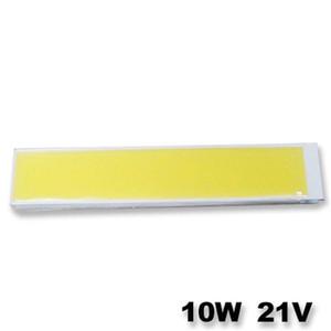 120 * 36mm ultra lumineux 1000lm 10W Cob LED Light Strip 21V DC pour Diy Lampes de voiture Lampes de travail Accueil Ampoules Bar Cob Chip