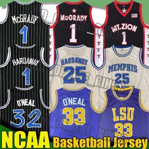 Universidad del Estado de NCAA 25 Anfernee Hardaway jerseys Shaquille ONeal 33 JerseyTracy 1 Mcgrady jerseys Universidad jerseys del baloncesto