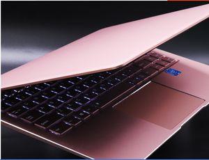 Dizüstü bilgisayar 14 inç 8g + 128g aydınlatma klavye metal çantası moda stil dizüstü bilgisayar OEM ve ODM üreticisi