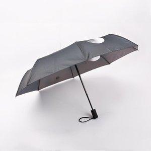 Зонт Finger 3 Средний Мужчины Женщины Прохладный Fold Impact Umbrella Творческий Дождевые 3 вислоухие qqds Зонтик Зонтик qylfKT