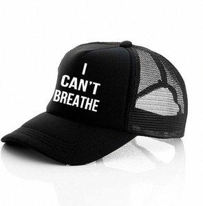 Non riesco a respirare cappello nero VITE MATERIA, giustizia per il cappello del sole George Floyd del cappello di Snapback Uomini Baseball Cap LJJK2159 FSXX #