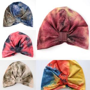 borsa casual bag foulard annodato sottile pullover di cotone casual tie-dyed pullover cap colore della luna HIEnT cappuccio per bambini a pieghe