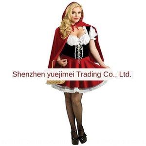 qjPtp Masquerade Partito cos Wansheng festa abito da principessa costume Little Red Hat Cappuccetto vestiti adulto signora Little Red Riding