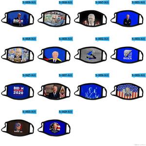 DHL 2020 nouveau design visage masque Joe Biden soutien américain campagne présidentielle masques en tissu de polyester transfrontalier masque personnalisé