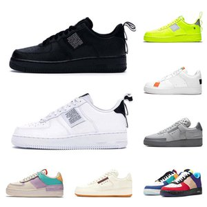 Zapatos off white nike air force 1 shadow af1 2020 Top Hombres Mujeres Zapatos para correr Classic N354 Utility Black Shadow Tropical Twist Trainers Baloncesto Skateboarding