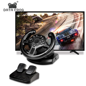 DATI FROG Racing Game volante volante Vibration Joystick per PS3 telecomando Wheels Drive per PC