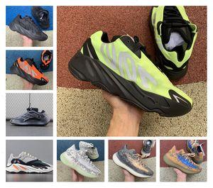 Son 700 MNVN Atalet Koşu Ayakkabı Ucuz Vanta 700 V3 Alvah Azael Kanye West Dalga Runner V2 Mist Alien Erkek Kadın Runner Sneakers