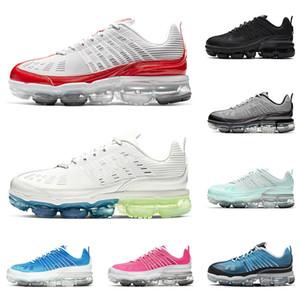 nike vapormax 360 offwhite zapatos corrientes del mens Varsity Royal Triple Blanco Negro iridiscente mágico Pink las mujeres las zapatillas de deporte al aire libre