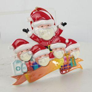 2020 рождественские украшения Рождество без мягкой глины маски старичок кулон дерево снеговика кулон смолы материал Рождество