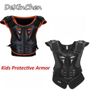 Мотоциклетная броня Детская груди для позвоночника Оборудование Motocross Детская броня Motos S / M / L По желанию