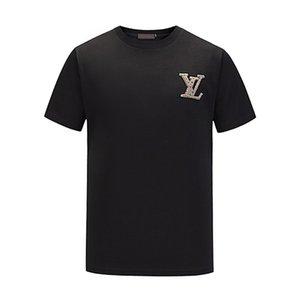 2020FF Yeni Erkek T Shirt Moda Casual Tişörtlü Erkekler Tees Medusa Çiçek Harf Baskı Komik T Gömlek Kısa Kollu Tshirts Tops