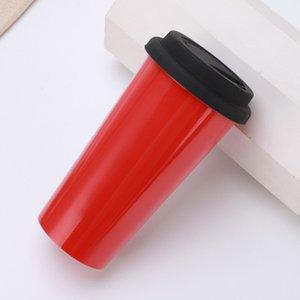 Заказной нержавеющей сталь массажер 500ML двустенных Изолированного Travel Mug Чашка Sealed Портативное Путешествие Открытое Главная Крытый