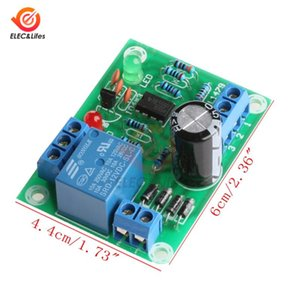 12V 액체 레벨 컨트롤러 센서 모듈 DIY를 키트 수위 감지 센서 보드 연료 물 흐름 유량계 모듈