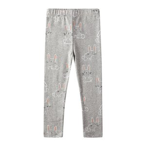 Jumping meters New Leggings Pants for Kids Girls Cartoon Animals Printed Autumn Spring Baby Trousers Skinny Pants Children Cloth MX200811