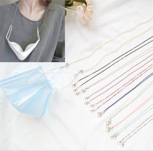 Новый Кристалл Pearl Mask Маска цепи шеи цепи маски аксессуары ожерелье ожерелье О себе