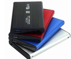2 .5 İnç Usb 3 0,0 HDD Kutusu Sabit Disk Disk Sata Harici Depolama Muhafaza Kutusu ile Perakende Paketi