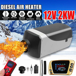 12V 2kw Diesels Air Parking Heater Air Heating LCD Switch with and Remote Control For Trucks Boats Car Trailer Heater