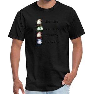 Moda 1 Porg, 2 PORGS, Porg vermelho, azul Porg - The Last Je camisa saucezhan t tom homme da camisa finland t grande tamanho s ~ 5xL hiphop