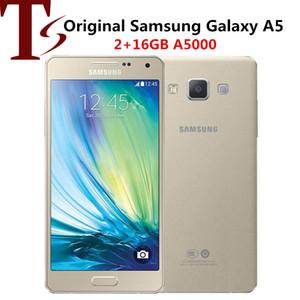 "Original Samsung Galaxy A5 A5000 RAM 2GB ROM 16GB Quad Core 5.0"" 13.0MP Dual SIM Refurbished Unlocked Phone"