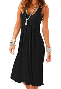 Fashion Women Summer Dresses Casual Sleeveless Womens Dress High Quality Ladies Streetwear Shirt Dresses Size S-2XL