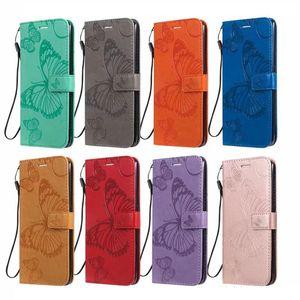cgjxs 상표 가죽 지갑 케이스 아이폰 11 5 0.8 6 0.1 6 .5inch 2019 삼성 주 10 프로 A80 A10e 나비 꽃 고양이 나무 홀더 카드 S