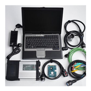 BEST MB Star C5 SD Connect with Laptop D630 with HDD SSD full SD C5 software 2020.06 xentry das dts v8.14 vediamo 5.1 epc wis