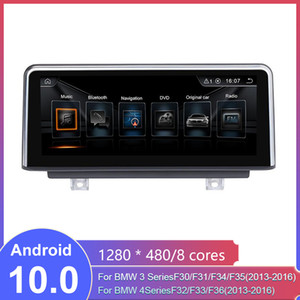 8.8 10.25 inç Android Araba Radyo Stereo BMW 3 Serisi F30 / F31 / F34 (2013-2016) 4 serisi F32 / F33 / F36 (2013-2016) GPS Navigasyon araç dvd'si yok
