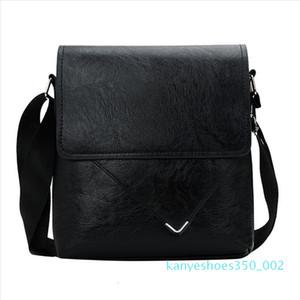 Ocardian Handbag New Fashion Men 2020 Business Messenger Bags Diagonal Briefcase Solid Color Classic Shoulder Bag Dropship k02
