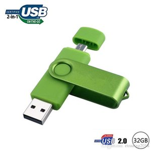 Moda OTG USB Flash Drive 32 GB USB 2 .0 para dispositivos Android / PC / Tablet / Mac