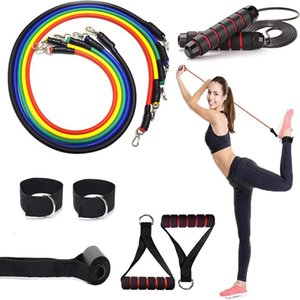 12Pcs jump rope Set with Foam Antiskid Jump Rope Indoor Pilates Yoga Physical Therapy Workout Body Training Fitness