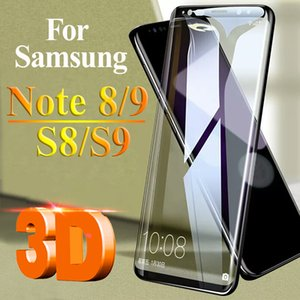 3D Protective Glass On Galaxy S9 Plus Screen Protector For Samsung S8 Note 8 9 Armor Samsun Note8 Note9 S Sheet Screensaver Case