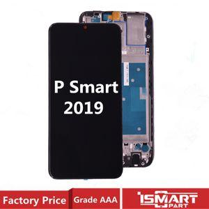 Çerçeve Black ile Huawei P Akıllı 2019 / P Akıllı Artı 2019 Ekran LCD Cam Dokunmatik Ekran Komple Kurul İçin Test