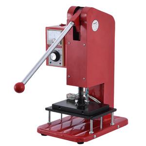kullanımı kolay Yeni varış 2020 Mini 150 Manuel İşletim Sıcak Varak Makineleri Damperli Makinası