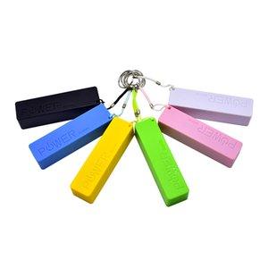 Portable USB External Power Bank-Kasten-Pack Box 18650 Ladegerät 2600mAh Nein Batterie-Powerbank mit Schlüsselanhänger