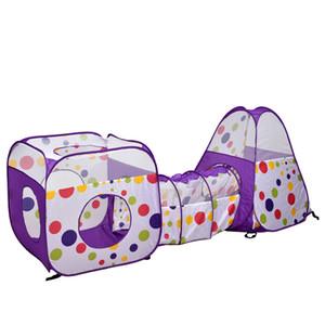 Interni Esterni divertente attività di capretto Ocean tenda del gioco portatile del bambino del bambino pieghevole casa Ocean Pool con tunnel