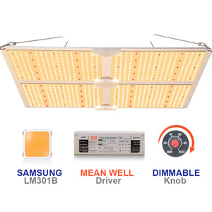 Новый Grow LED Light 480W Samsung Quantum LM301H LM301B 550 v2 v3 Совет УФ ИК 450W Ledgrowlight